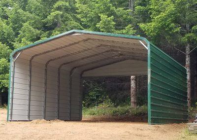 Green carport